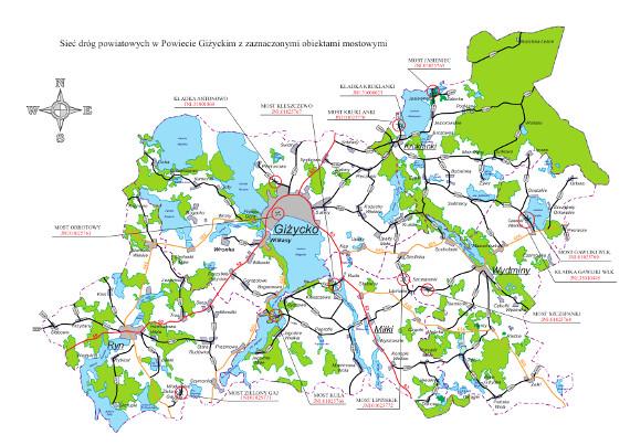 Mapa_3_siec_drog_powiatowych_z_zaznaczonymi_mostami_2016
